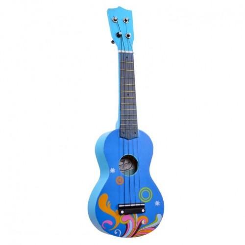 Mini Çocuk Gitarı Manuel Raymond Mavi MRU53BL