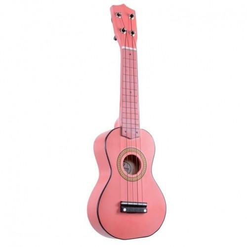 Mini Çocuk Gitarı Manuel Raymond Pembe MRU53PNK