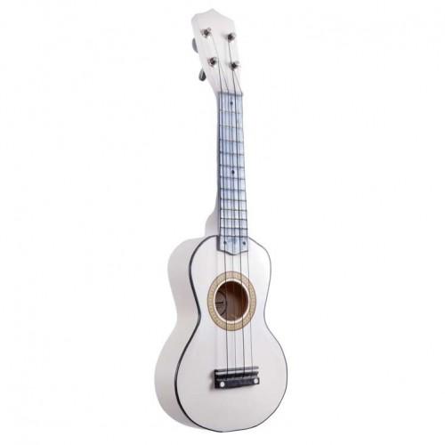 Mini Çocuk Gitarı Manuel Raymond Beyaz MRU53WH