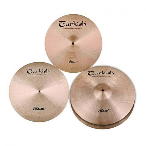 Turkish Cymbals Takım Çantalı Set C-SET-1