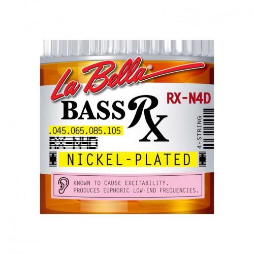 Gitar Aksesuar Bas Tel Labella 4 Telli RX-N4D 0,45