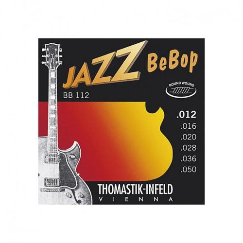 Gitar Aksesuar Elektro Jazz Bebop Tel Thomastik Infeld BB112