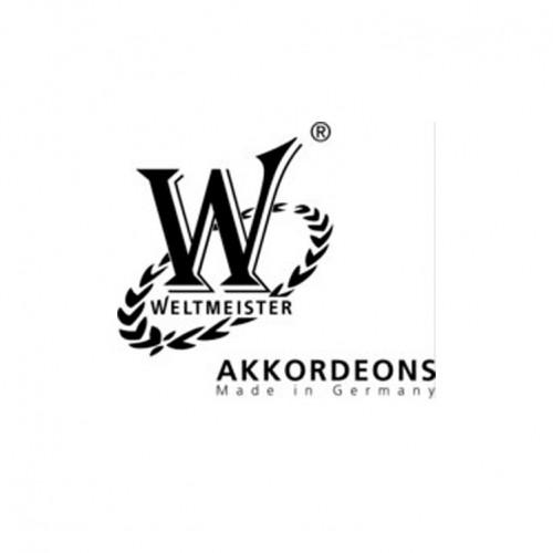 Akordiyon Weltmeister Opal 37/96/III/7/3 Kırmızı 01012105