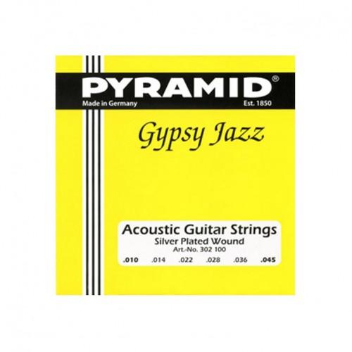 Gitar Aksesuar Akustik Tel Pyramid 0.10 302100