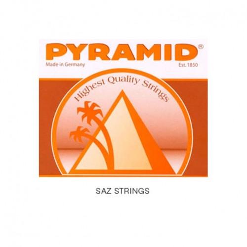 Bağlama Aksesuar Tel Kısa Takım Pyramid 0.18 676