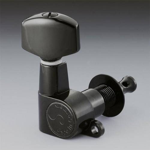Burgu Takımı Schaller M6 Mini Siyah Krom Mat 6 Sol 10040420
