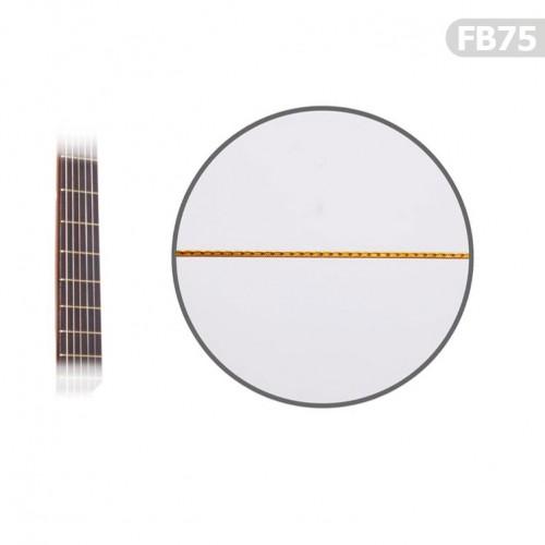 Gitar Perdesi Prinç 1 Adet 0,75 mm FB75