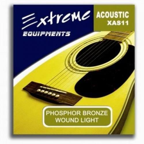 Gitar aksesuar Akustik Tel Extreme XAS11
