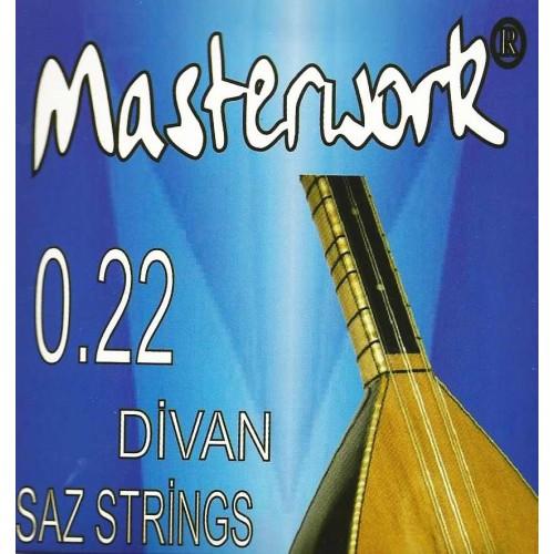 Masterwork elektro gitar teli for 0 25 divan saz teli