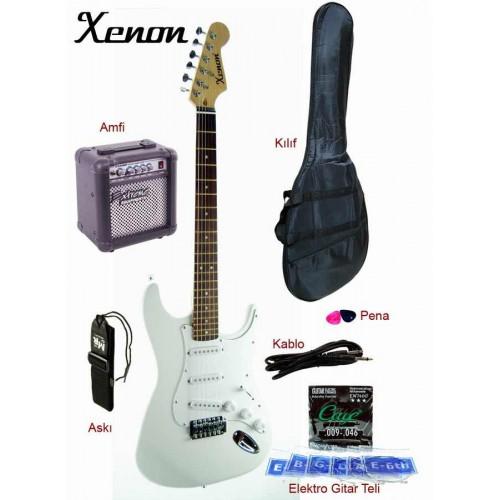 Elektro Gitar Seti XNE3WHSET