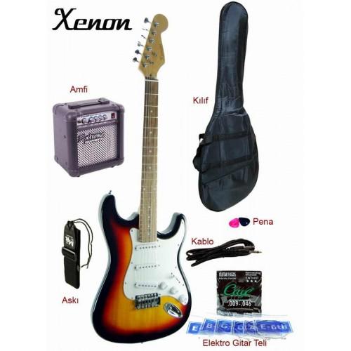 Elektro Gitar Seti XNE3SBSET